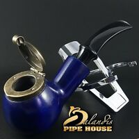 "Outstanding Mr.Balandis original Hand made smoking pipe ""KAISER 25"" smooth Bluer"