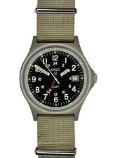 MWC GMT Dual Timezone 100m Water Resistant  Stainless Steel  Military Watch