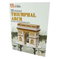 CubicHappy - 3D Puzzle - Triumphal Arch Paris 3D Puzzel - Bauwerk - Triumphbogen