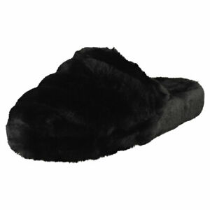 Ted Baker Lopsey Womens Black Slippers Sandals - 7.5 US