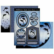Dolphin Day Under The Sea Card Making Kit Paper Crafting Hunkydory Tsea901 New
