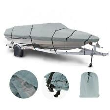 17-19ft Trailerable Boat Cover Waterproof UV Protect Fishing Ski Boat Cover