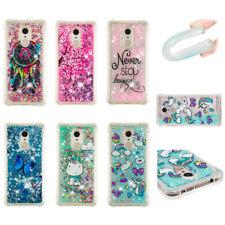 Heart Shape Bling Glitter Quicksand Liquid Dynamic TPU Case For Samsung Galaxy