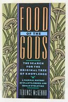 Food of the Gods by Terence McKenna, First Edition, First Printing, Like New