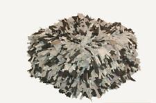 Puf peludo color gris 55X55X30 comedor o habitacion