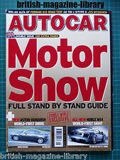 Autocar 25/5/2004 Road Test: Ferrari 612 Scaglietti Aston Vanquish Noble M14
