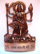 Kali Maa Vaishno Mata Durga Copper Plated Idol - Murti - Statue -Energized INDIA