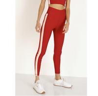 NWT Spiritual Gangster Size XS 7/8 Legging Dahlia Rainbow Red New $118