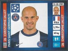 PANINI UEFA CHAMPIONS LEAGUE 2013-14- #172-PARIS SAINT-GERMAIN-CHRISTOPHE JALLET
