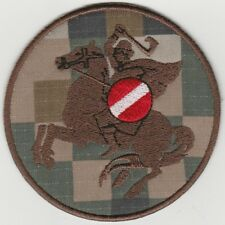 LATVIAN ARMY NATIONAL GUARD 27th BATTALION MULTILATPAT PATCH. FREE SHIPPING
