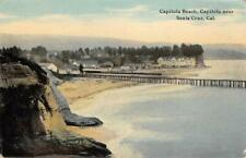 CAPITOLA BEACH Capitola, near Santa Cruz, California  ca 1910s Vintage Postcard