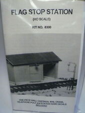 Smokey Mountain Model HO Flag Stop Station or Shed KIT #8300 NEW->FAST SHIP!
