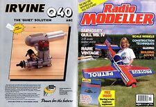 RADIO MODELLER MAGAZINE 1993 OCT HARRY W GILKES CATS PAW FREE PLAN,