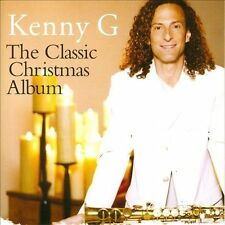 Kenny G - Classic Christmas Album New Sealed CD Smooth Jazz Saxophone