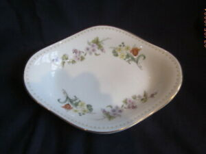 WEDGWOOD MIRABELLE BONE CHINA  MINT DISH OR SAUCE STAND VGC