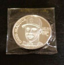 Greg Maddux 1992 Cy Young award 1 Troy OZ silver  266 (iv)