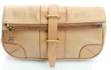 Belstaff Dorchester Clutch Bag Warm Beige Size Medium Handbag RRP £1,095