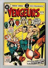 FRENCH COMIC FRANÇAIS EDITION HERITAGE   AVENGERS  / VENGEURS  # 44 / 45