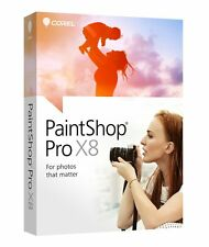 Corel PaintShop Pro X8 PC Disc Brand New, Sealed