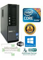 Custom Build Dell Desktop Computer i3 3rd   16GB   1TB SSD   HDMI Windows 10 PC