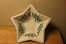 Lenox Holiday Star Bowl Nib and ready for the Christmas Holiday