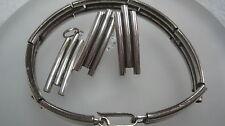 schmuckset hacia fuera 925 Brazalete de plata +PENDIENTES +Colgante Joyería