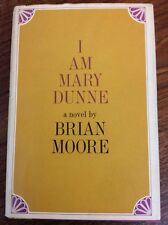 BRIAN MOORE• I Am Mary Dunne (HC DJ 1968) 1st US Printing! Not BCE-Rare!