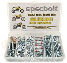 Bolt Kit Suzuki RM 60 65 80 85 125 250 plastic engine frame fender 370 400