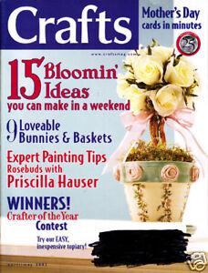 Loisirs Créatifs Livres : #1137 Magazine Avril Peut 2003