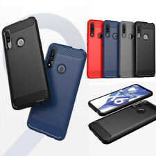 For Huawei Honor 9X Premium Soft glossy Satin Brushed TPU Rubber case cover