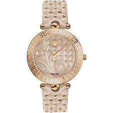 "Versace Women's VK7020013 ""Vanitas"" Rose Gold Ion-Plated Watch"