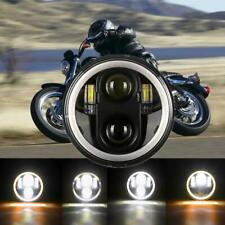 """5-3/4"""" Motorcycle LED Headlight Projector DRL For Harley Sportster XL 1200 883"""