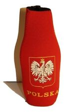 Poland Polish Polska Eagle Country Red White Bottle Jacket