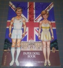 Chuck and Di Have a Baby Paper Doll Book 1982 Uncut