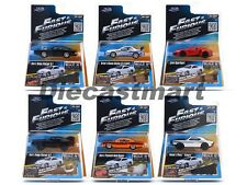 JADA 1:55 FAST FURIOUS WAVE 1 SET OF 6 LYKAN HYPERSPORT SKYLINE R34 PAUL WALKER