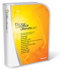 Microsoft Office 2007 Ultimate complet pour Windows 1PC Lifetime license-Télécharger