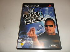 PlayStation 2 PS 2 WWF SmackDown-Just trae it!