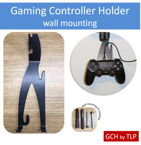Gaming Controller Holder Wall Mount PS4 PS3 Playstation Xbox One S X 360