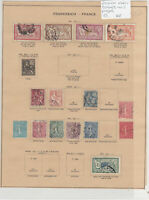 France Early Stamps On 2 Pages Ref: R7276