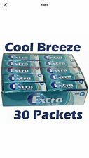 Wrigleys Extra Chewing Gum Cool Breeze Sugar Free 30 x 14g