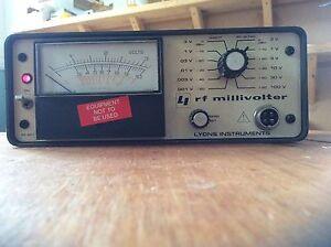 RF801 RF Millivolter