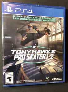 Tony Hawk's Pro Skater 1 + 2 Remastered (PS4) NEW
