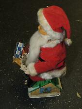 Vintage Battery Coin Operated Santa on Roof Bank Not Working