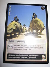 STAR WARS CCG JEDI KNIGHTS CARD MINT/N-MINT RARE DEWBACK PATROL 116 R