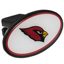 Arizona Cardinals Durable Plastic Oval Hitch Cover Licensed Nfl Football