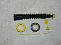 Gas Can Nozzle Spout Complete Kit Blk Fits Gas Water Diesel Fits Most All Cans