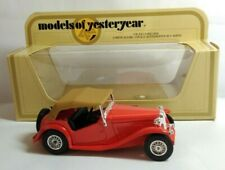 MATCHBOX MODELS OF YESTERYEAR 1:35 SCALE 1945 MG-TC - RED - Y-8