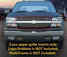 Billet Grille INSERTS or 2002-2006 Chevy Silverado 1500 2500 3500 HD Avalanche