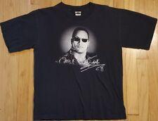 Vintage 2000 THE ROCK shirt S youth XL WWF WWE wrestling black attitude RAW