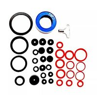 32 PC TAP LEAKS REPAIR KIT SINKS BATHS KITCHEN PIPE JOINTS SEALS KEY TAPE O RING